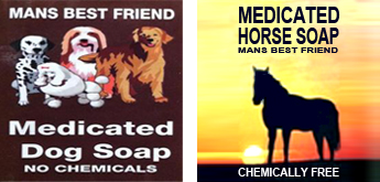 Australian Handmade &  Chemically-free Medicated Soap for all Animals Big and Small.